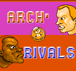 Arch Rivals - A Basket Brawl! (USA) Title Screen