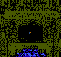 Dragon Warrior - Part II (USA) Title Screen