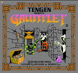 Gauntlet (USA) Title Screen
