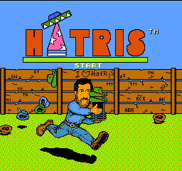 Hatris (Japan) Title Screen