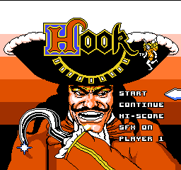 Hook (Japan) Title Screen