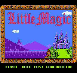 Little Magic (Japan) Title Screen