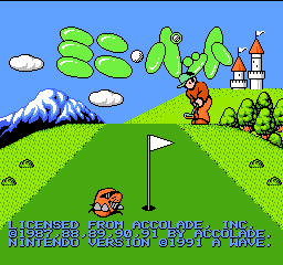 Mini Putt (Japan) Title Screen