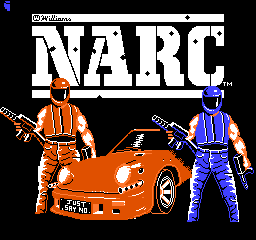 NARC (USA) Title Screen