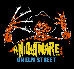 Nightmare on Elm Street, A (USA) Title Screen