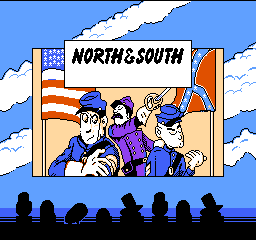 North & South (USA) Title Screen