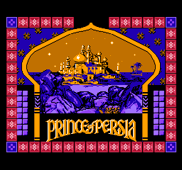 Prince of Persia (USA) Title Screen