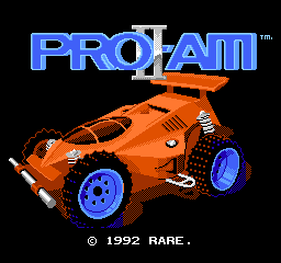 R.C. Pro-Am II (USA) Title Screen