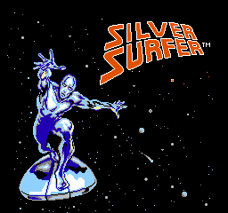 Silver Surfer (USA) Title Screen