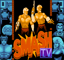Smash T.V. (USA) Title Screen