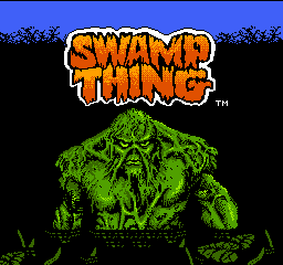 Swamp Thing (USA) Title Screen