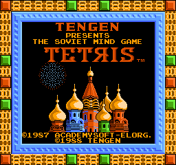 Tetris (USA) (Unl) Title Screen