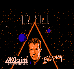 Total Recall (USA) Title Screen