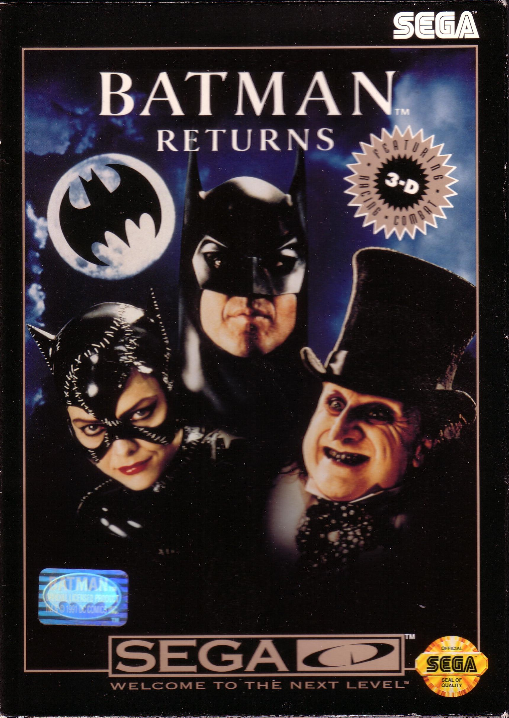 Batman Returns (U) Front Cover