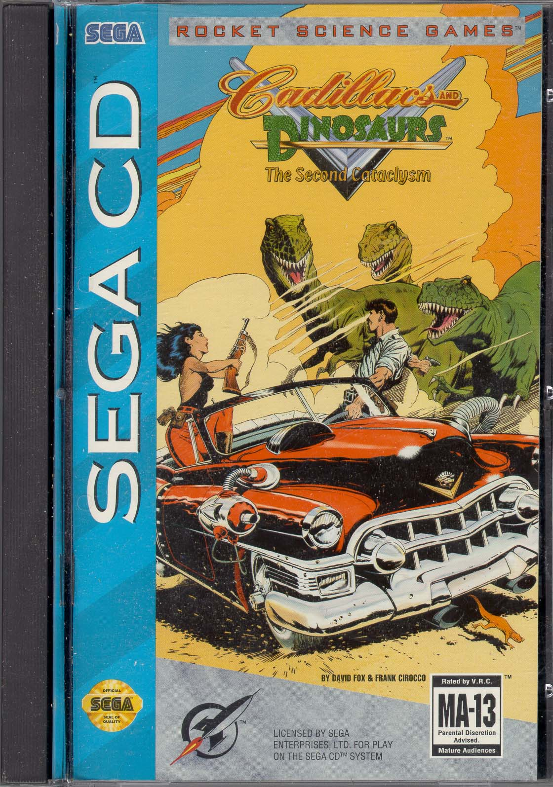 Cadillacs & Dinosaurs - The Second Cataclysm (U) Front Cover