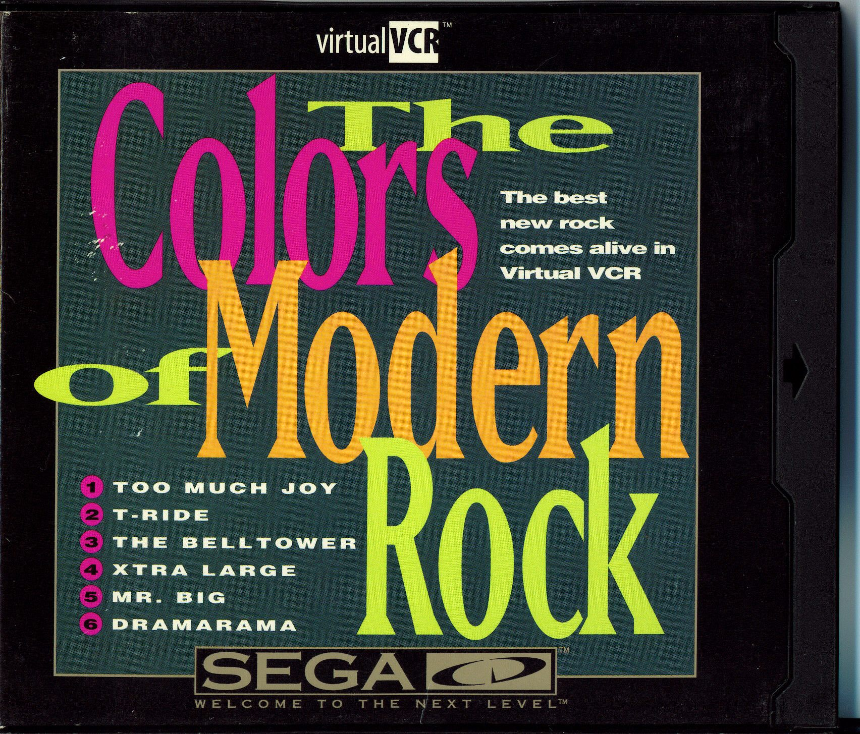 Colors of Modern Rock, The - Virtual VCR (U) Front Cover
