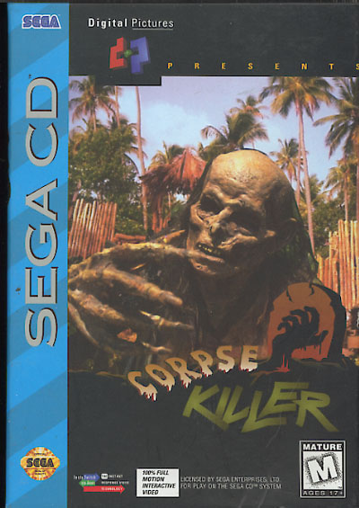 Corpse Killer (U) Front Cover