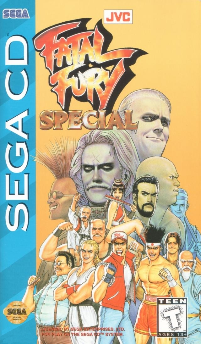 Fatal Fury Special (U) Front Cover