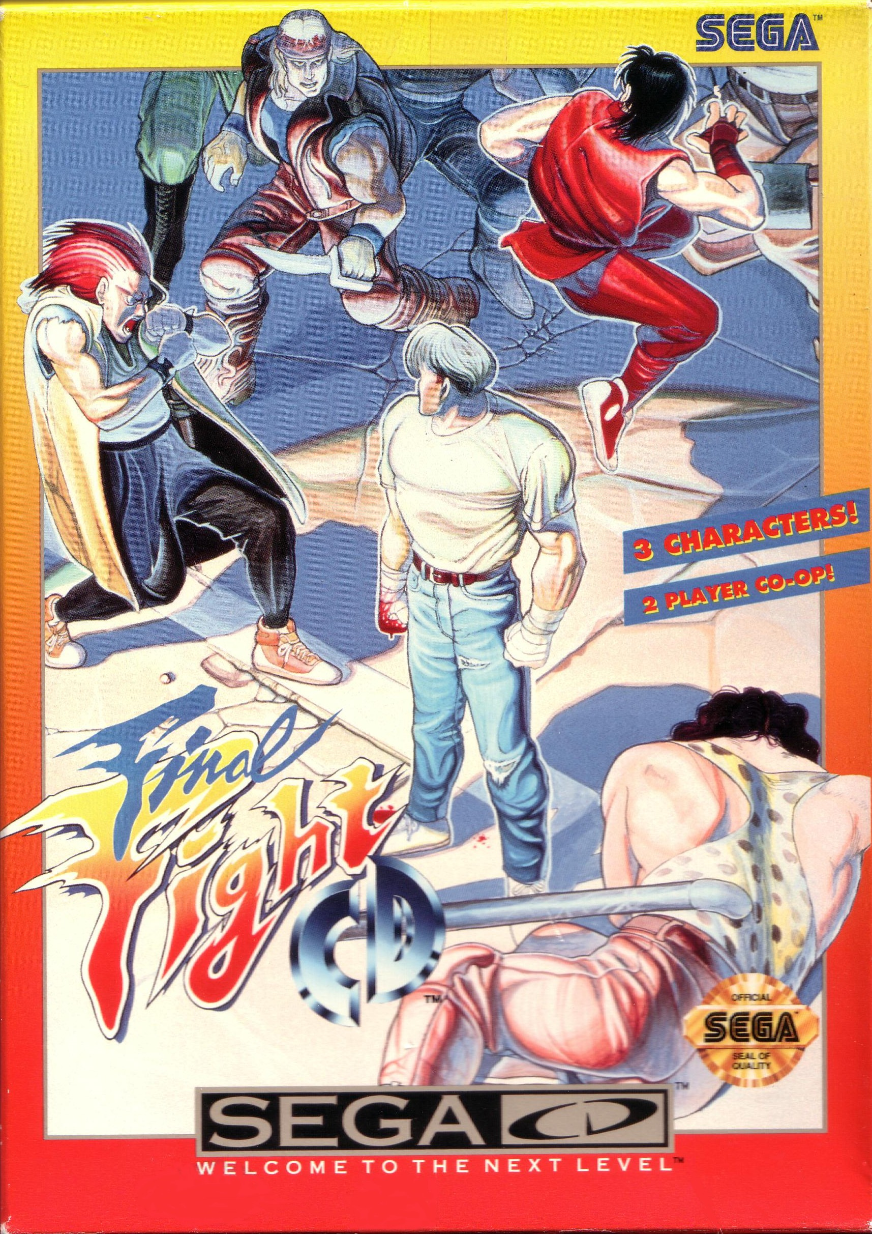 Final Fight CD (U) Front Cover