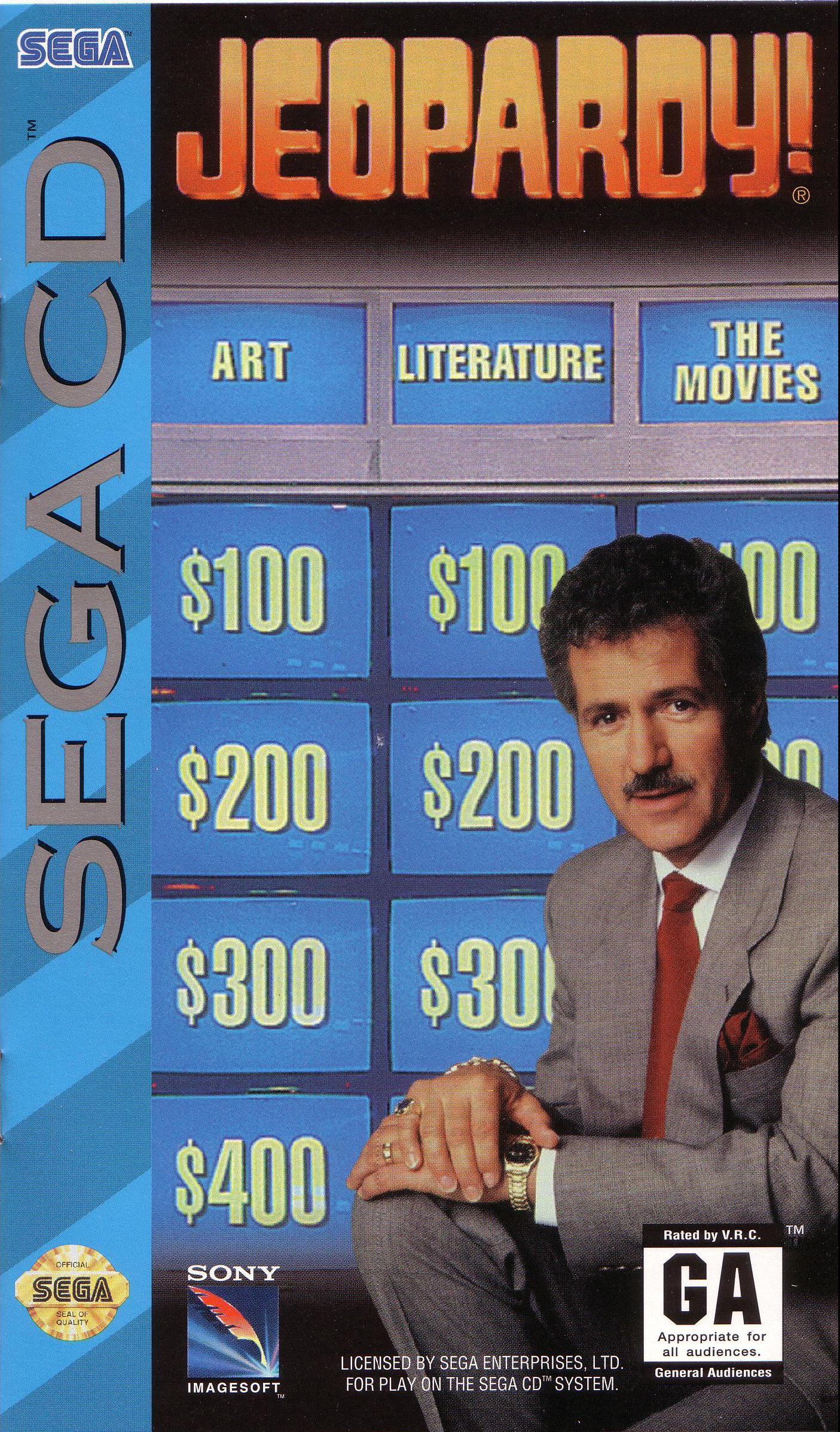 Jeopardy! (U) Front Cover