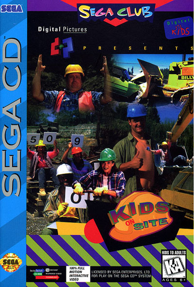 Kids On Site (U) Front Cover