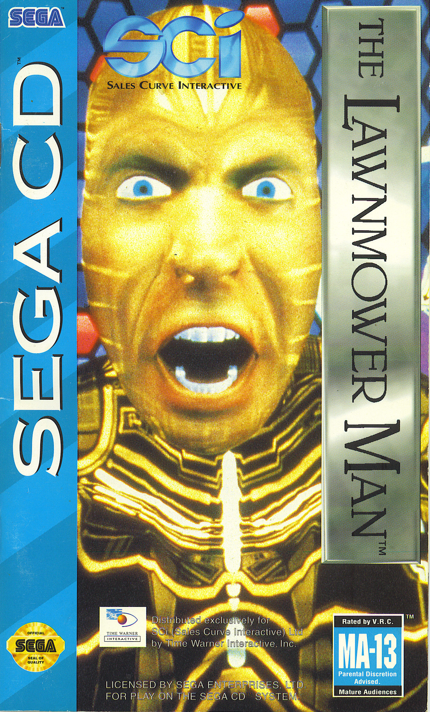 Lawnmower Man, The (U) Front Cover