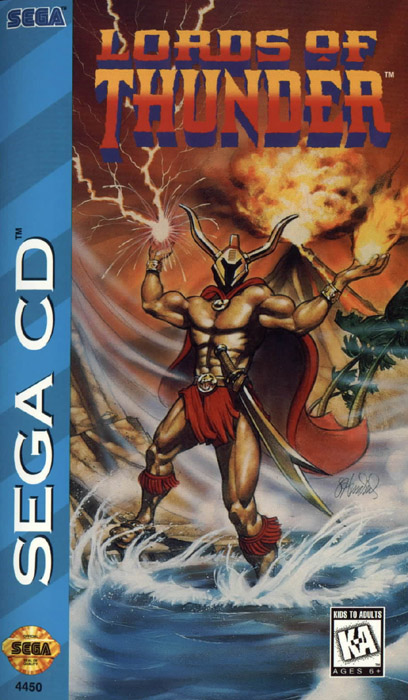 Lords of Thunder (U) Front Cover