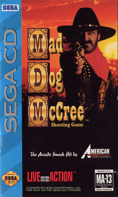 Mad Dog McCree (U) Front Cover