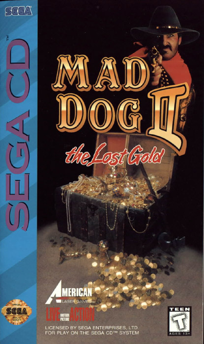 Mad Dog McCree II - The Lost Gold (U) Front Cover