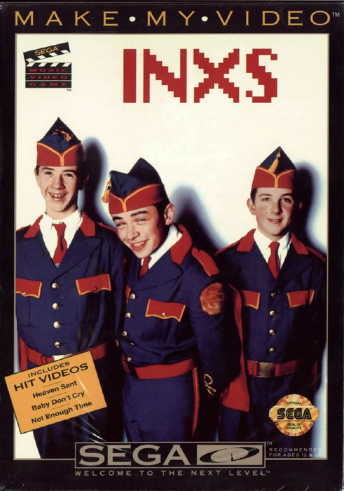 Make My Video - INXS (U) Front Cover