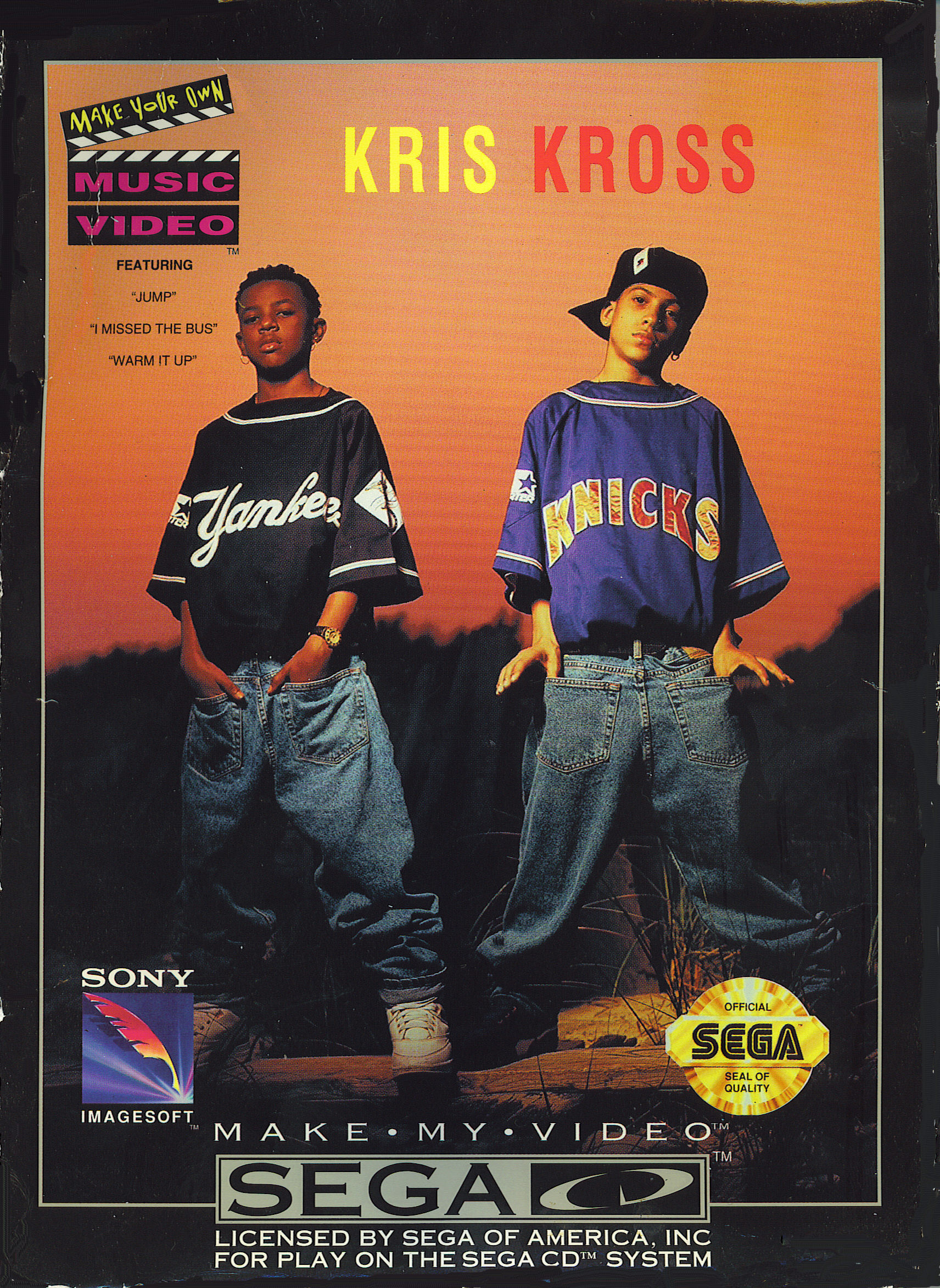 Make My Video - Kris Kross (U) Front Cover