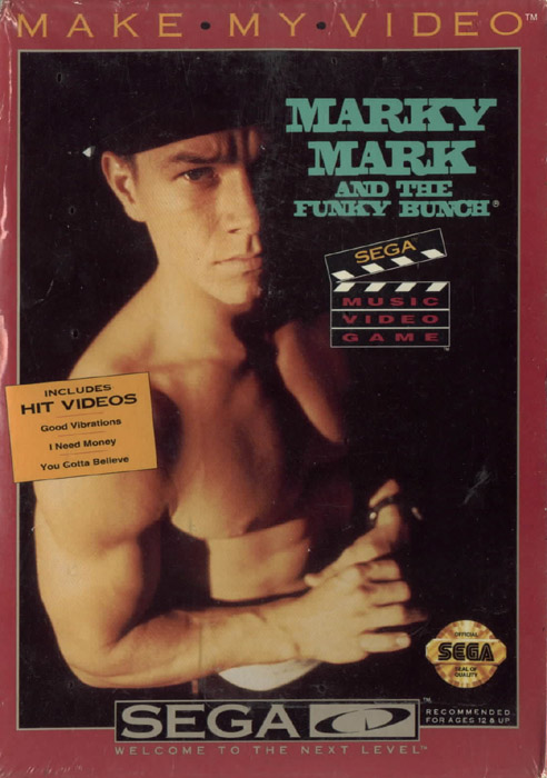 Make My Video - Marky Mark And The Funky Bunch (U) Front Cover
