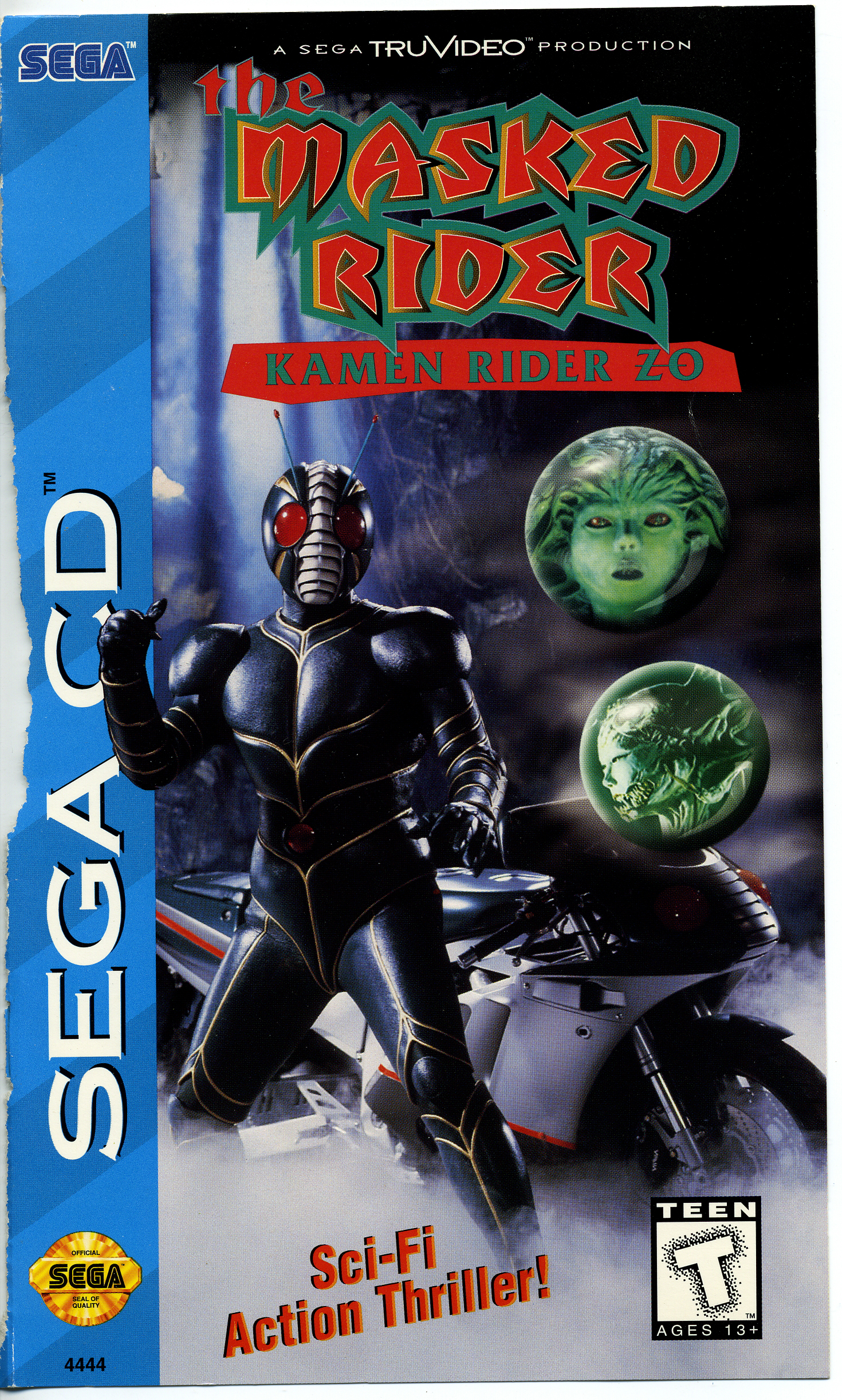 Masked Rider, The - Kamen Rider ZO (U) Front Cover