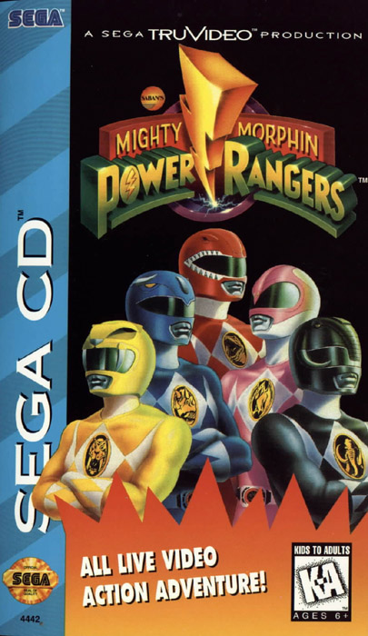 Mighty Morphin Power Rangers (U) Front Cover