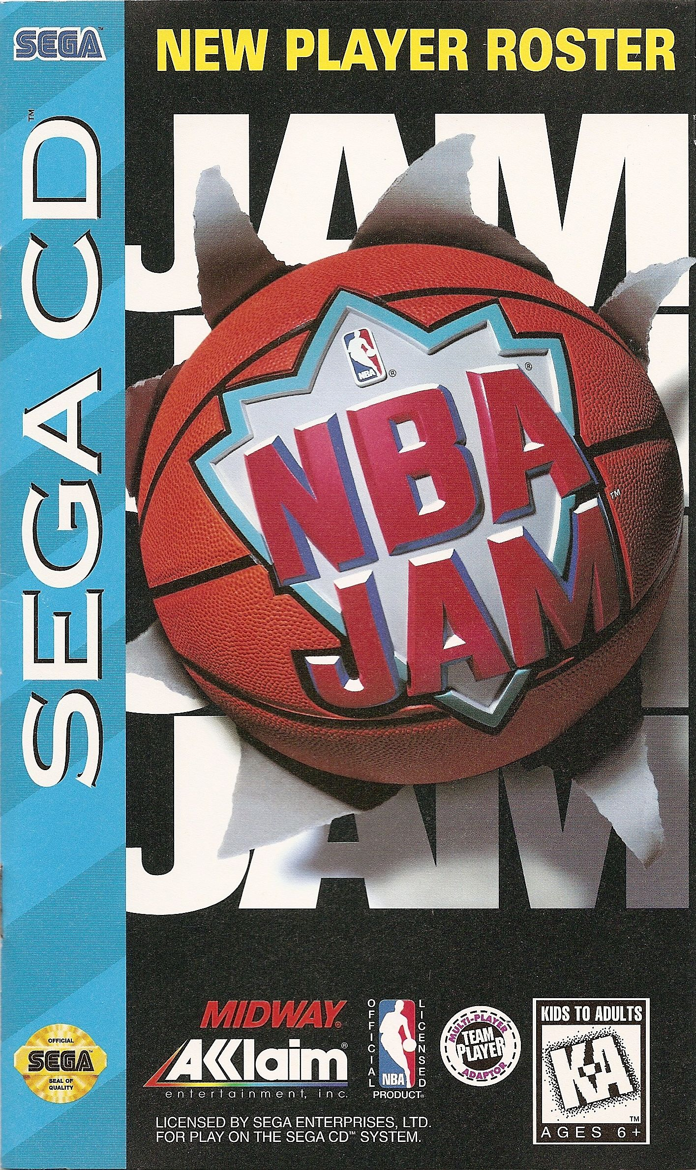 NBA Jam (U) Front Cover