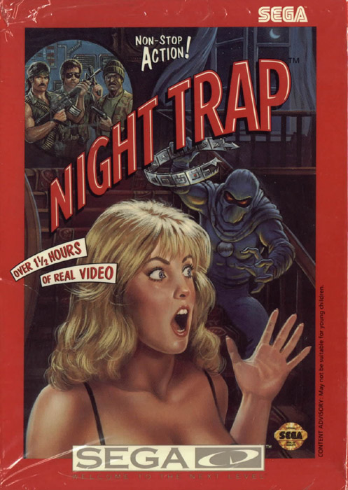 Night Trap (U) Front Cover