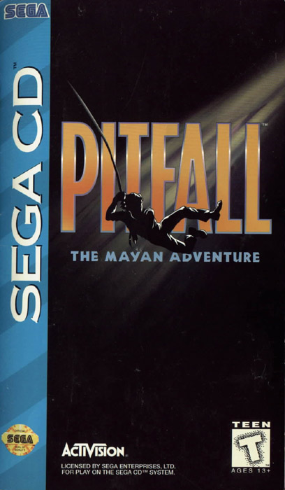 Pitfall - The Mayan Adventure (U) Front Cover