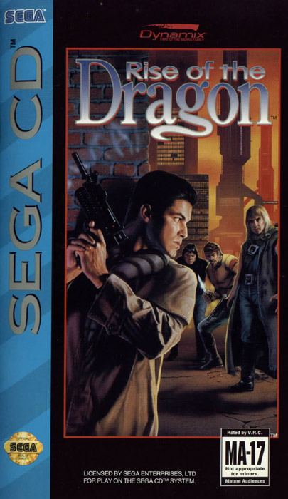 Rise of the Dragon (U) Front Cover