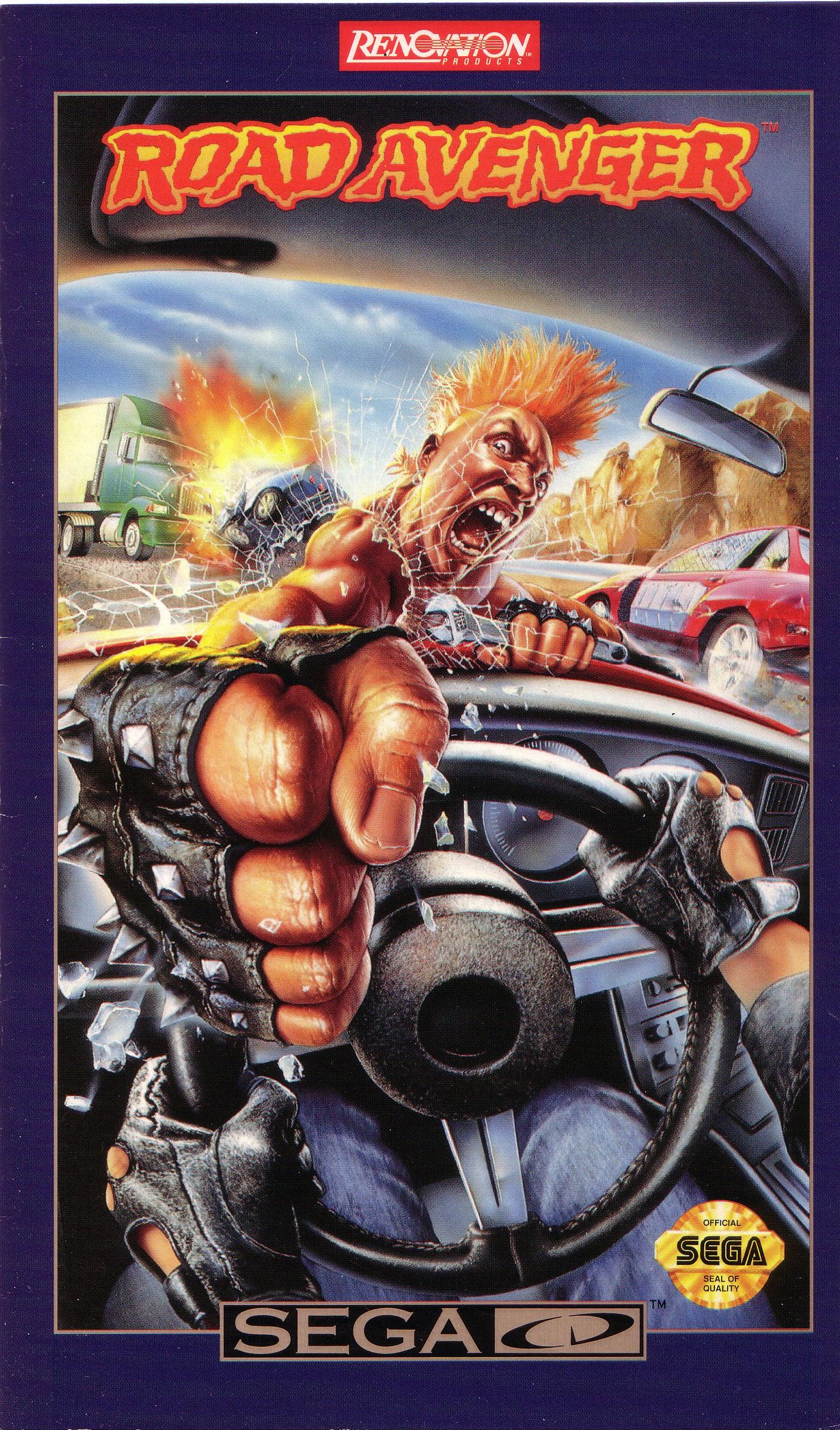 Road Avenger (U) Front Cover