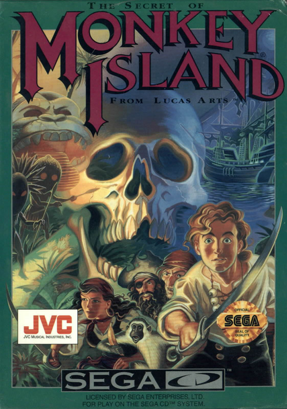 Secret Of Monkey Island, The (U) Front Cover