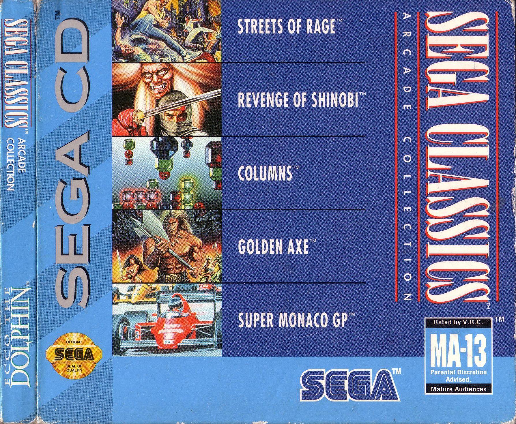 Sega Classics 5-in-1 (U) ISO < SegaCD ISOs | Emuparadise