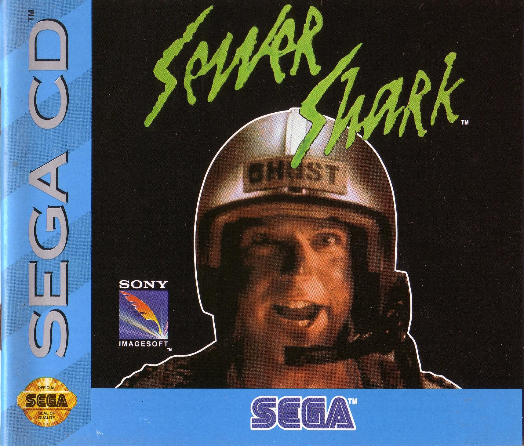 Sewer Shark (pack-in version) (U) Front Cover