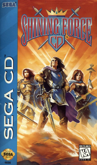 Shining Force CD (U) Front Cover