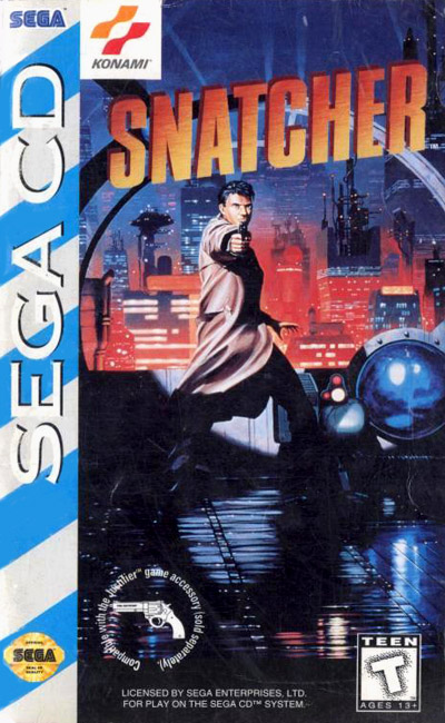 Snatcher (U) Front Cover