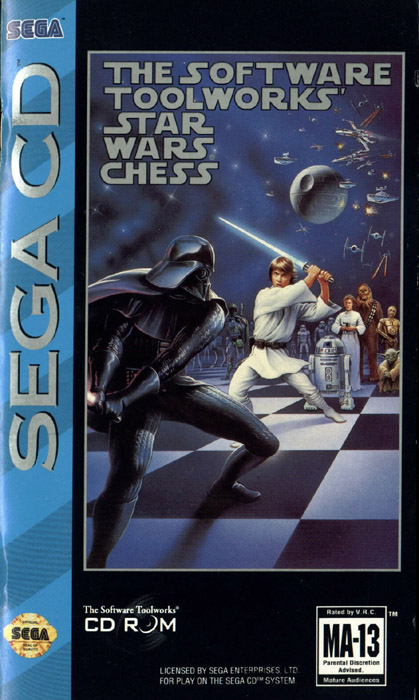 Star Wars Chess (U) Front Cover