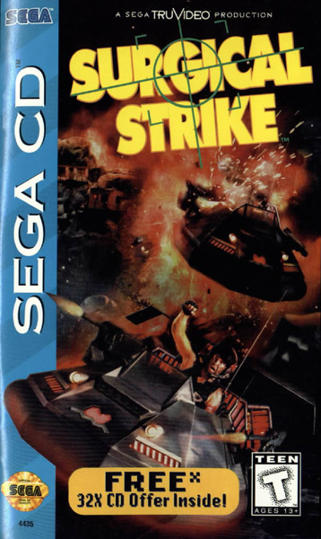 Surgical Strike (U) Front Cover