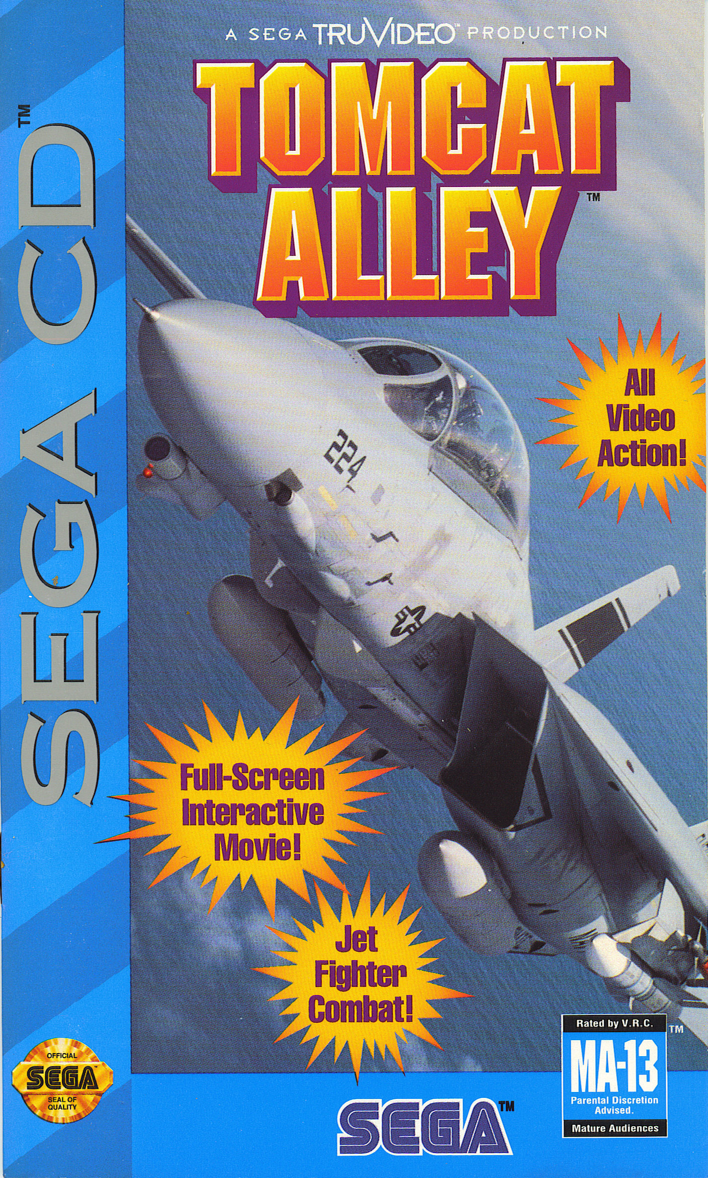 Tomcat Alley (U) Front Cover