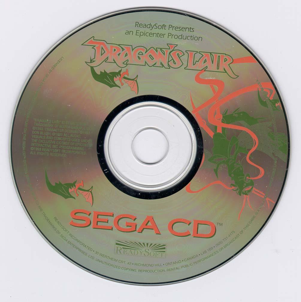 dragons lair sega cd