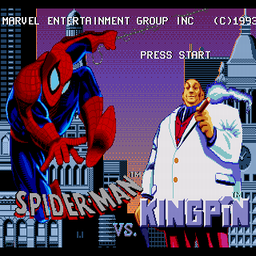 Amazing Spider-Man Vs The Kingpin, The (U) Title Screen
