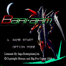 Android Assault - The Revenge of Bari-Arm (U) Title Screen
